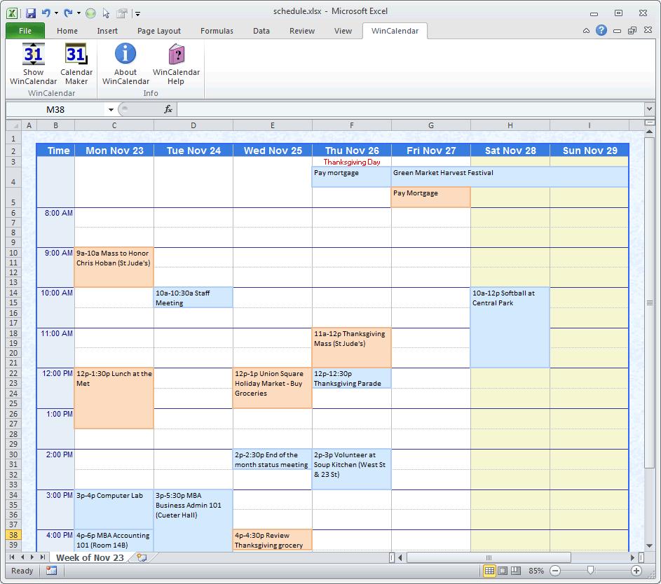 how to create a calendar in microsoft word 2007