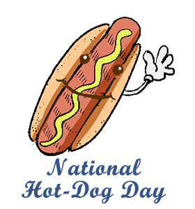 National Hot Dog Day July