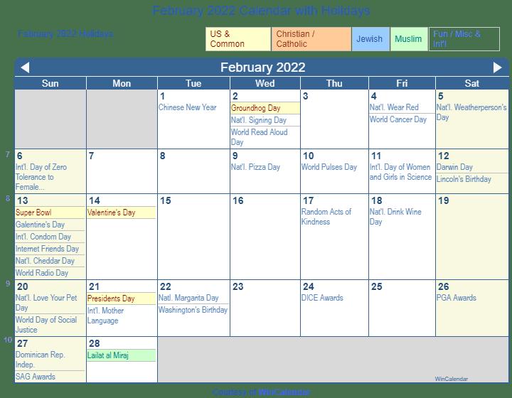february 2022