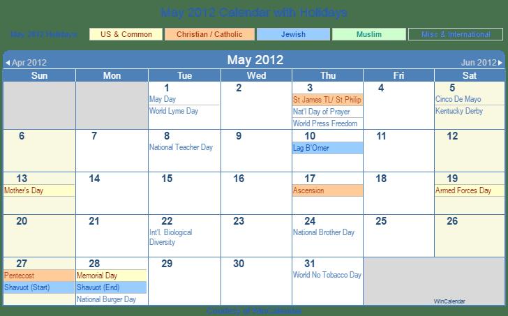 Calendar May Png : Jewish holidays bing images