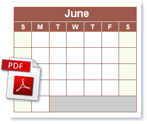 photo regarding Printable Pdf Calendar known as PDF Calendar. Cost-free Blank PDF Calendar. Click on in the direction of Obtain
