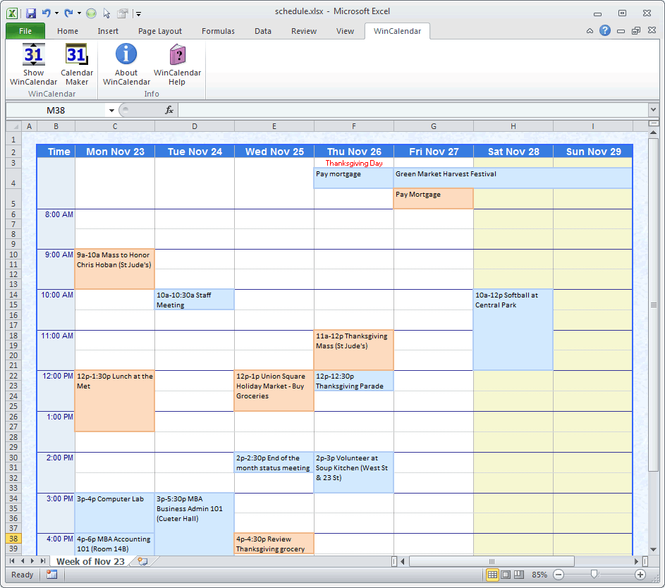 free excel schedule maker elita aisushi co