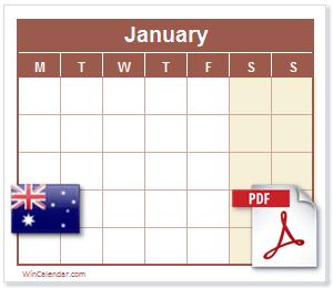 Pictures of Au Calendar 2021