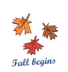 Fall begins (Northern H.)