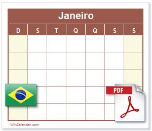 Calendario 2020 Com Feriados.Calendario Pdf Com Feriados Brasil