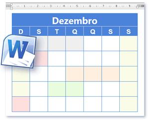 Modelo Calendário Calendário Em Branco E Para Imprimir Em Formato